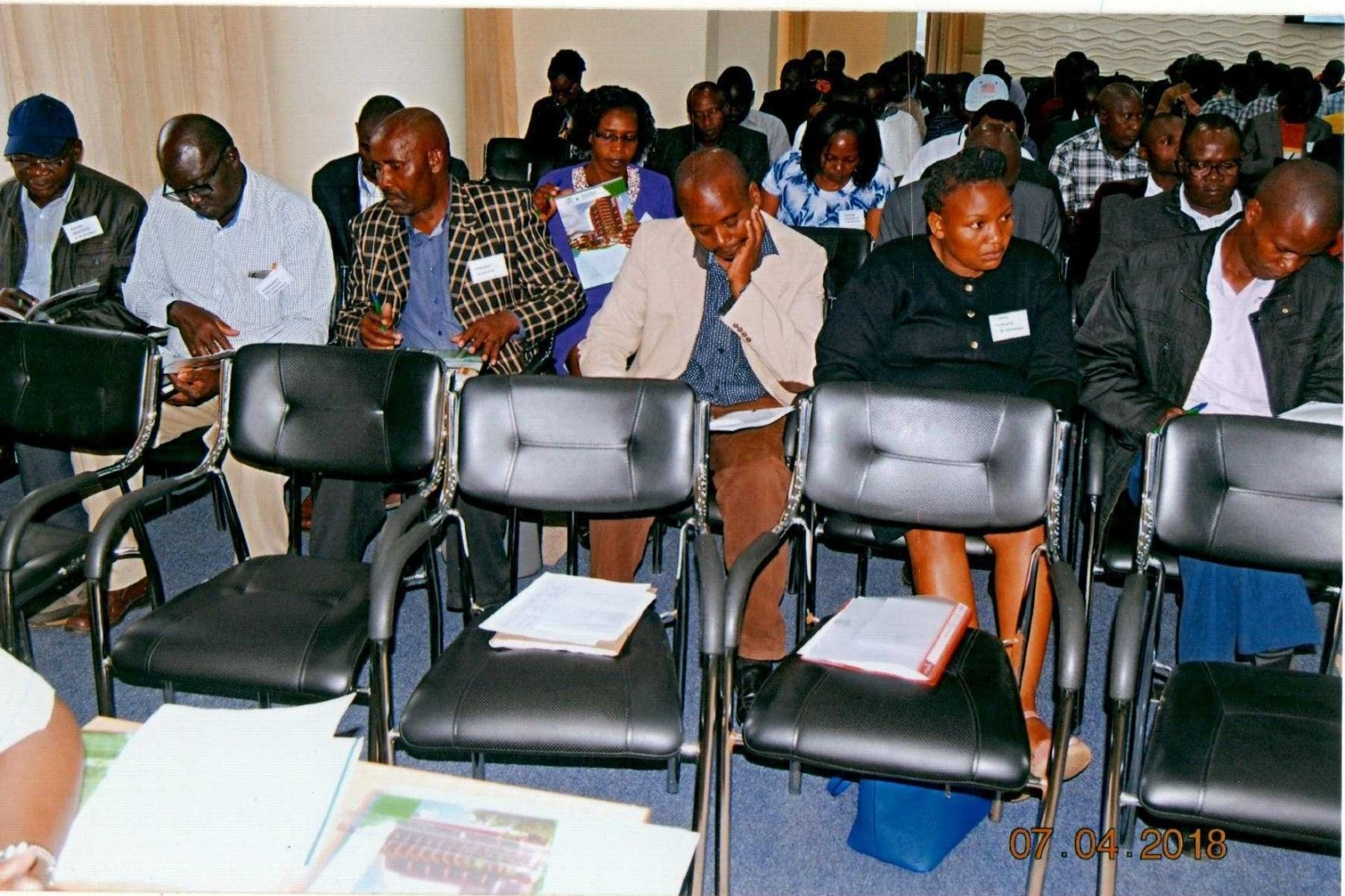Hazina Sacco Delegates during the 34th Annual Delegates Meeting