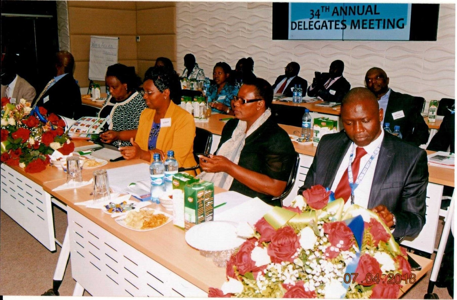 Hazina Sacco Directors CEO and Guests during the 34th Annual Delegates  Meeting
