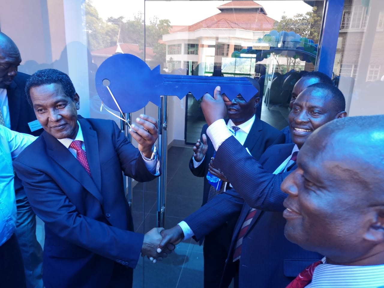 Opening of Hazina Sacco New office